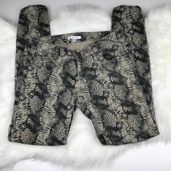CAbi Denim - CAbi #985 Diamondback Snakeskin Skinny Jeans sz 4